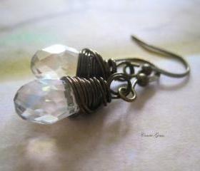 Handcrafted Crystal Earrings