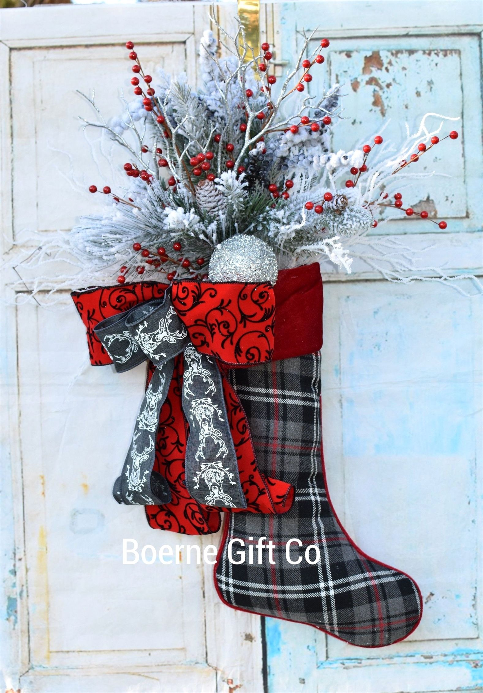 Excited to share this item from my etsy shop Plaid Door Hanger