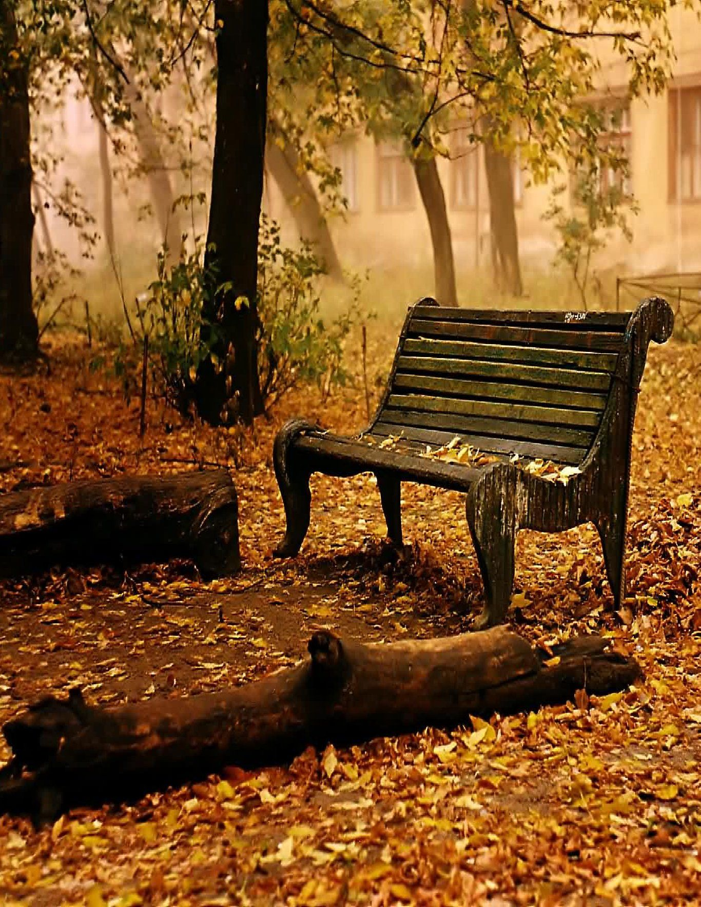 park bench | Benches | Pinterest | Muebles de exterior, Bancos y Otoño