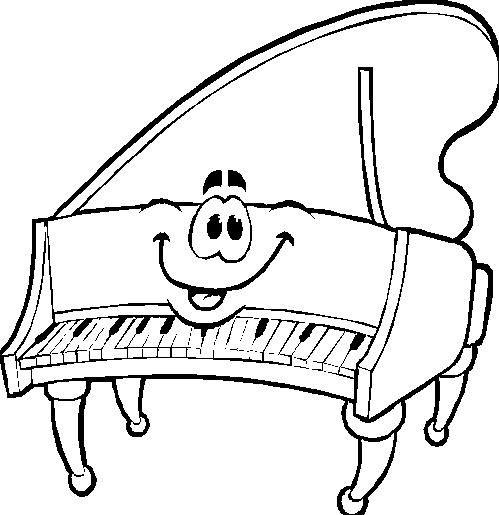 Disegno Pianoforte Da Colorare.Disegni Da Colorare Miscellaneous 22 Music For Kids Music
