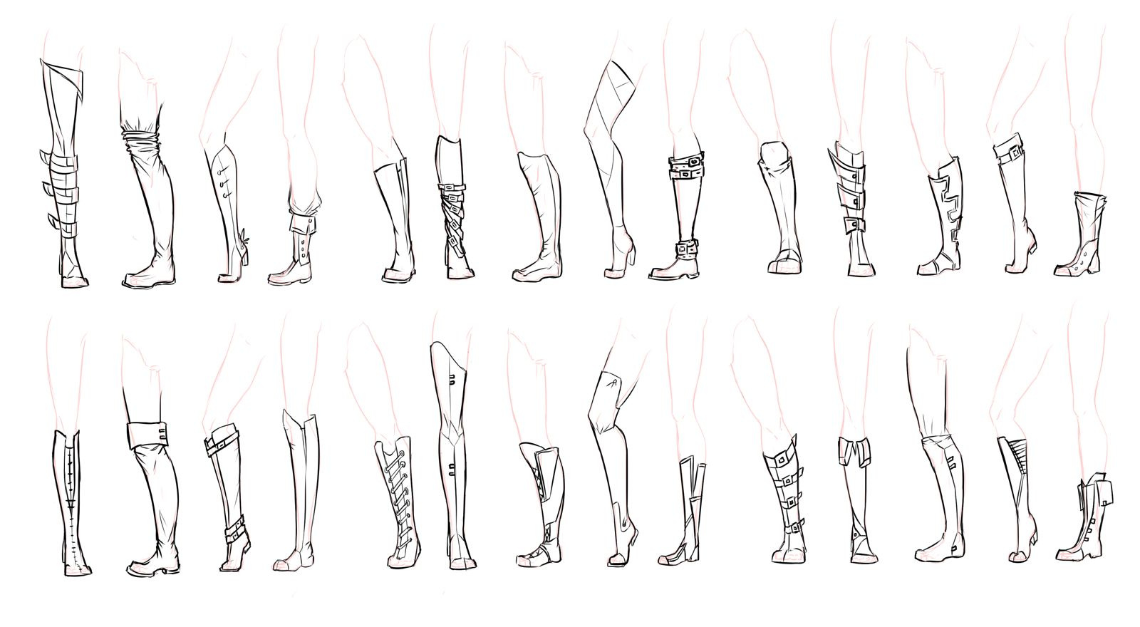 Uncategorized Draw Boots boots by sefti deviantart com on drawing reference deviantart