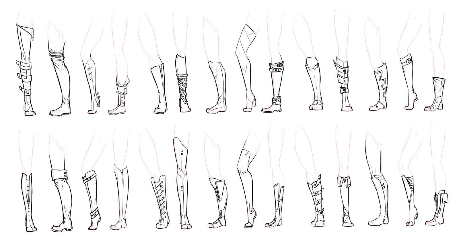 Boots by on DeviantArt Art