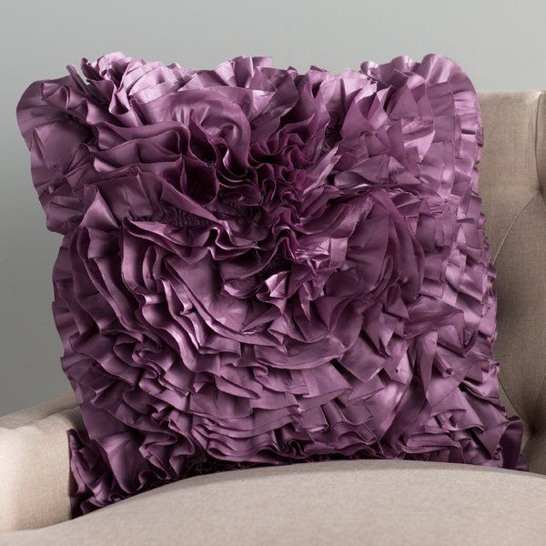 Throw pillows, Floral throw