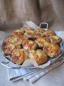 La cuisine d'ici et d'ISCA: Champignons farcis au jambon et au comté
