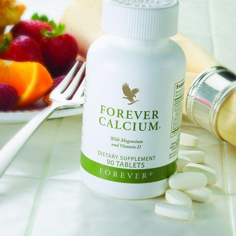 فوريفر كالسيوم وفيتامين د Forever Living Products Calcium Magnesium Vitamin