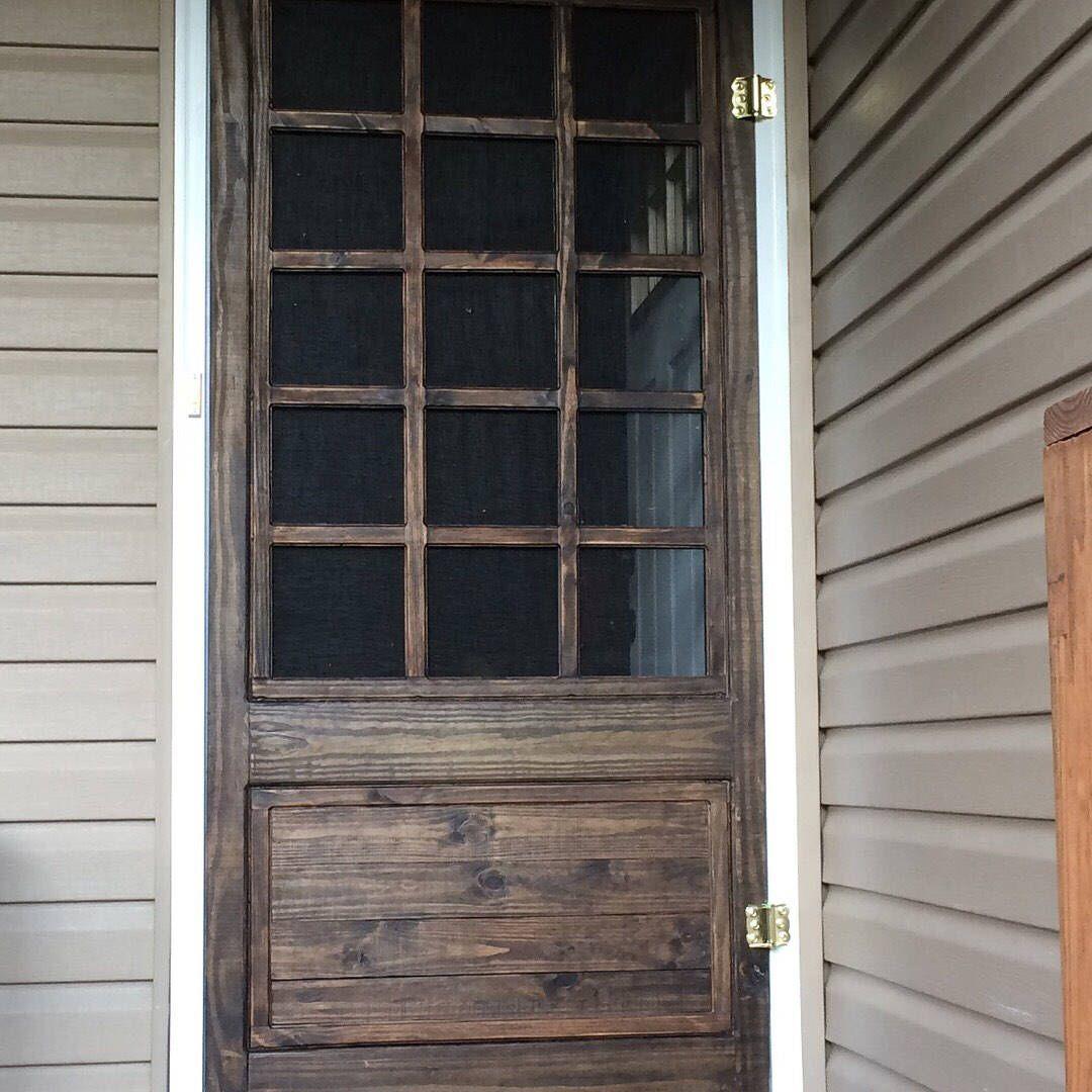 Custom Dutch Farmhouse Screen Door By Knottywoodcraftshop On Etsy