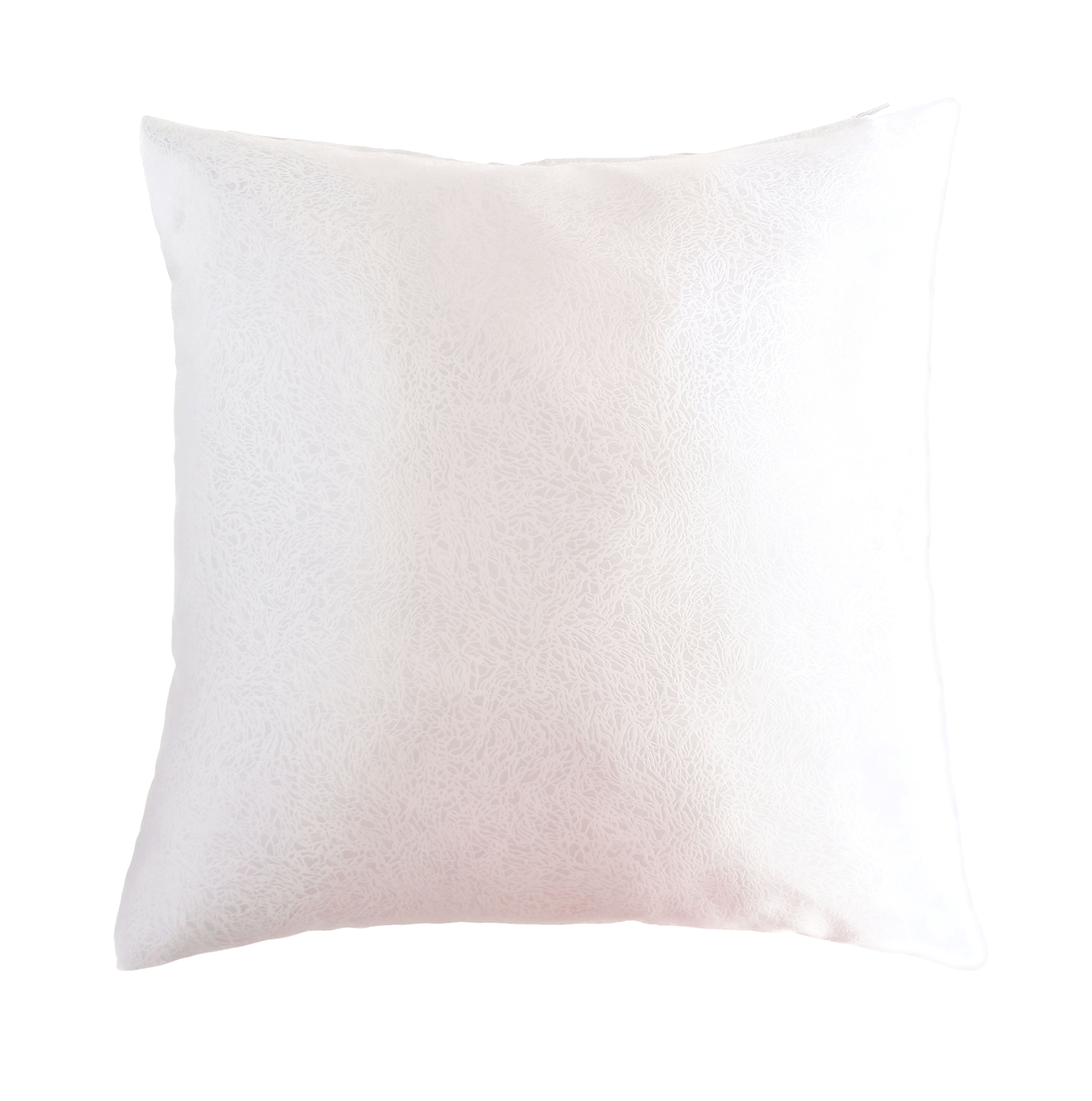 bright white 18 x 18 decorative textured satin cushion cover throw square pillowcase for chair pillow covers color 1 pillows decor sofa couch bed