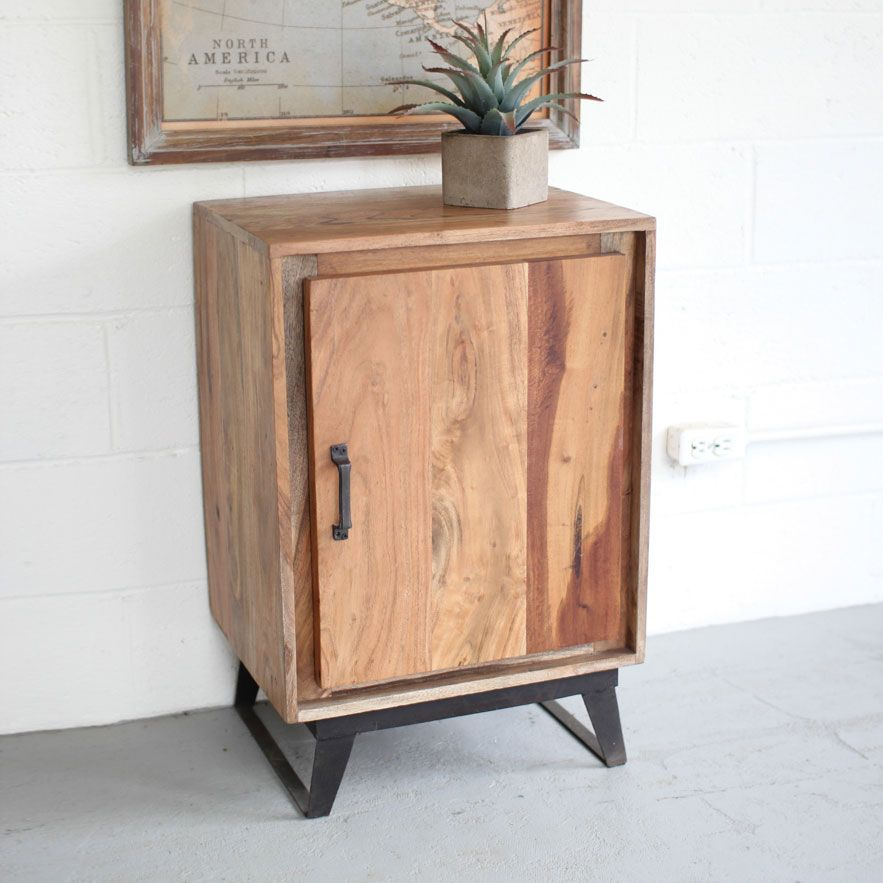 Single Door Side Cabinet - Unique Modern Furniture - Dot & Bo ...
