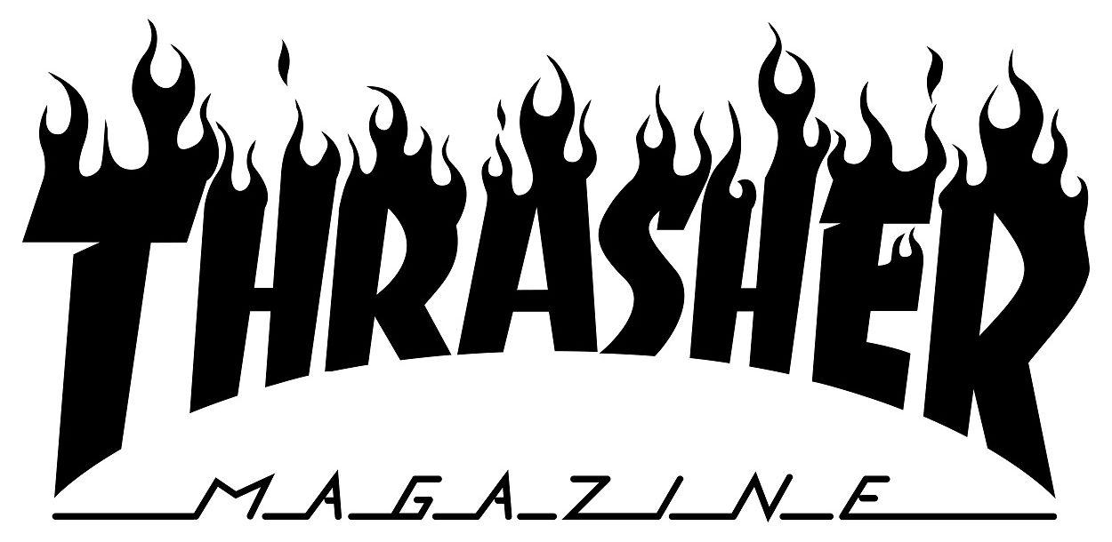 Thrasher Magazine Logo Thrasher Thrasher Magazine Logo Sticker