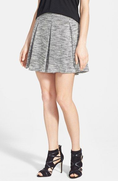 Harlowe and Graham Pleated Knit Skirt available at #Nordstrom