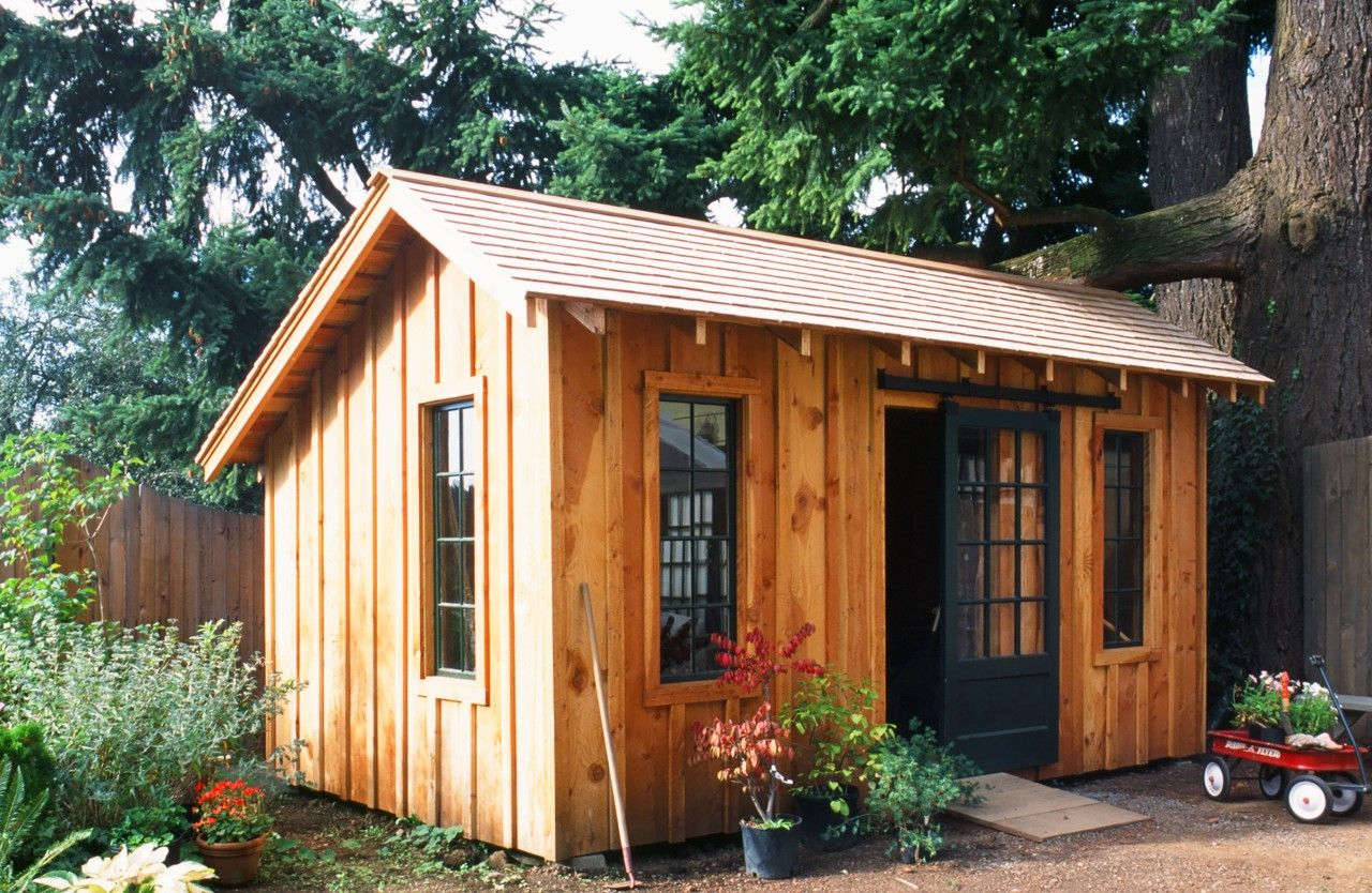 Best Tool Shed With Rough Sawn Siding And Trim Hand Layed Cedar Shingle Roof Salvaged Door And 400 x 300