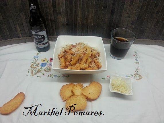 Cocinando con Maribel: Macarrones a la carbonara en olla programable gm.