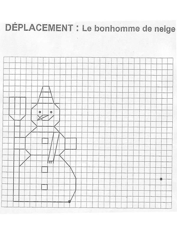 bonhomme-de-neige | forma másolása | Pinterest | Mathe, Legasthenie ...