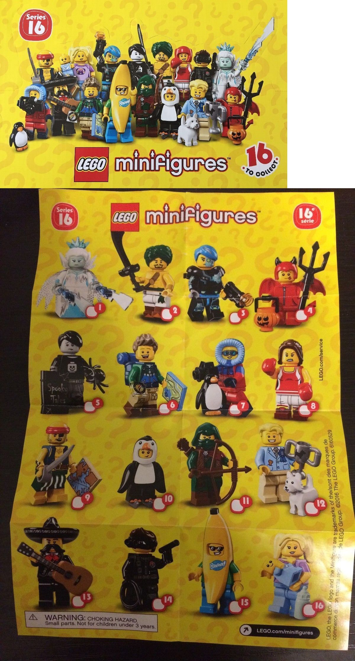 Genuine Lego 71013 Minifigure series 16 no 7 Wildlife Photograph Clearance Sale
