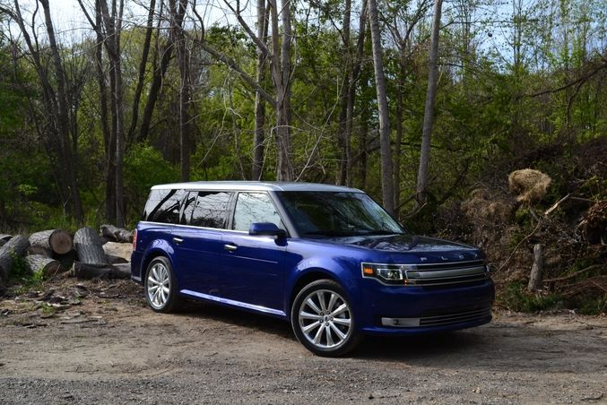 Winding Road Driven 2013 Ford Flex Limited Ecoboost Awd Ford