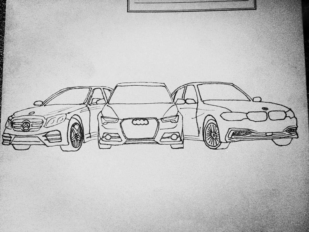 Audi Zeichenstift Audi Zeichenstift Zeichenstift Autoszeichnungen