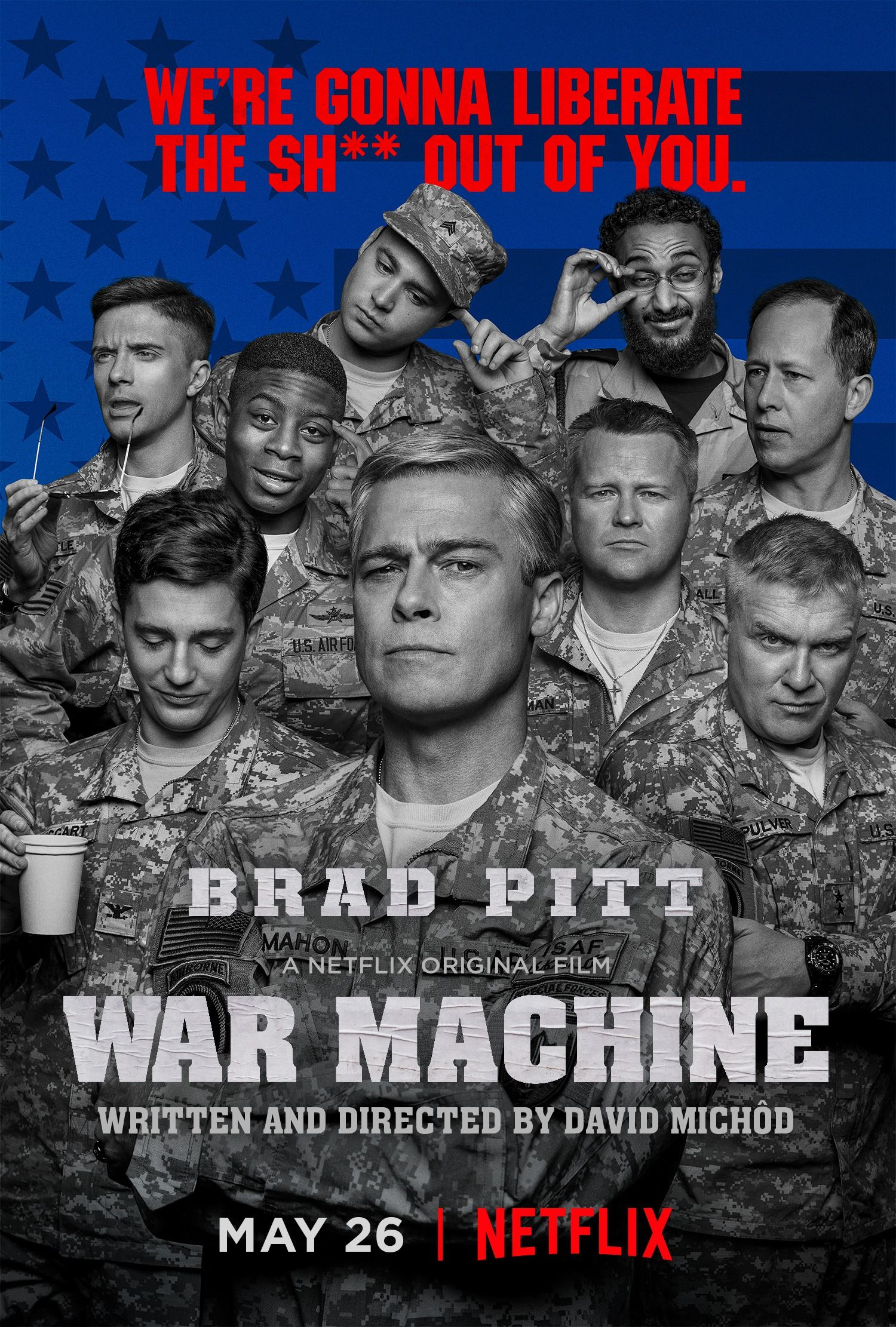 Return To The Main Poster Page For War Machine Movies To Watch