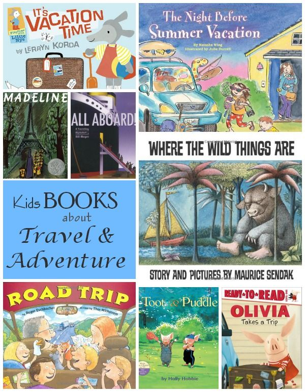 Books to Encourage and Inspire Travel and Adventure #familytravel #travelingwithkids #inspiration @TrunkiUS