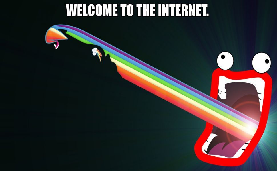 Welcome To The Internet Meme Hd Wallpaper Funny Memes Internet