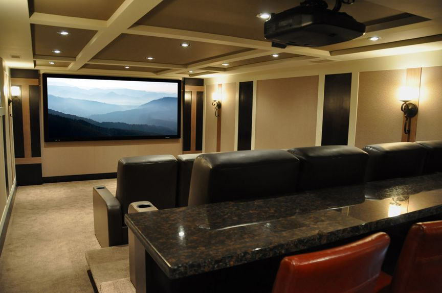 Dressed to Impress | CEDIA Home Theater Design Ideas | Home Theater ...
