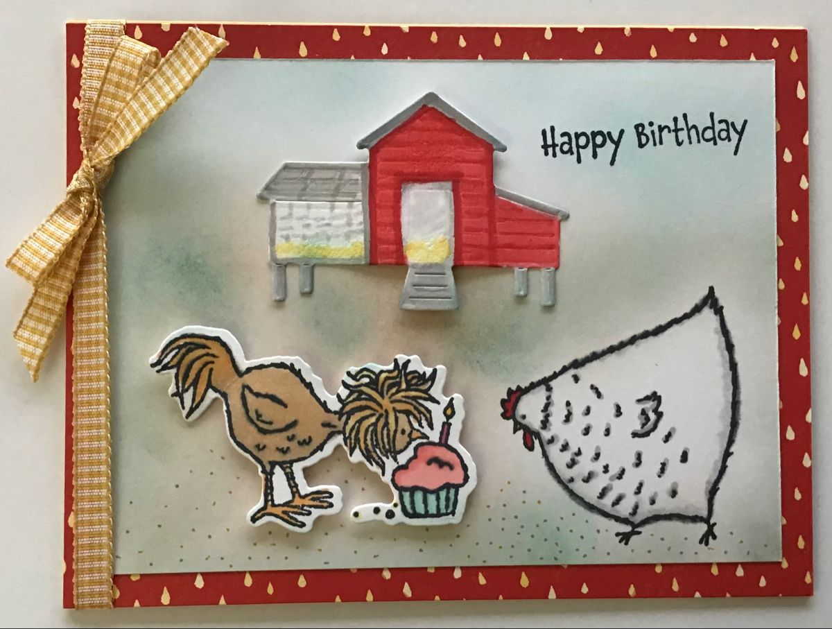 Hey Birthday Chick - Barnyard Birthday