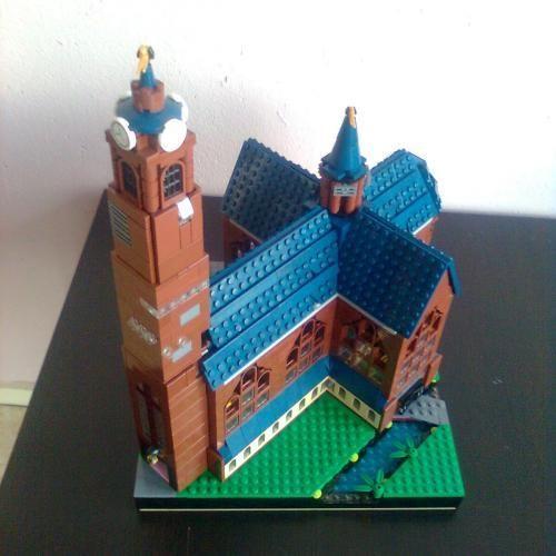 LEGO Set MOC-0551 Mini Church - building instructions and parts list ...