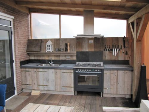 Veranda keuken 1 pinterest verandas and outdoor living