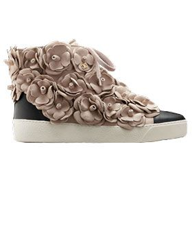 f09da286a6d3 Chanel s new camelia sneakers are bad, bad news for those with a shoe  addiction.