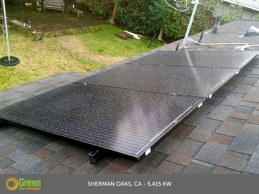 Green Solar Technologies solarpanel installation in