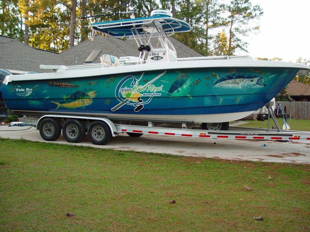 Full Boat Wrap Jpg 1 024 215 768 Pixels Inventive Fishing