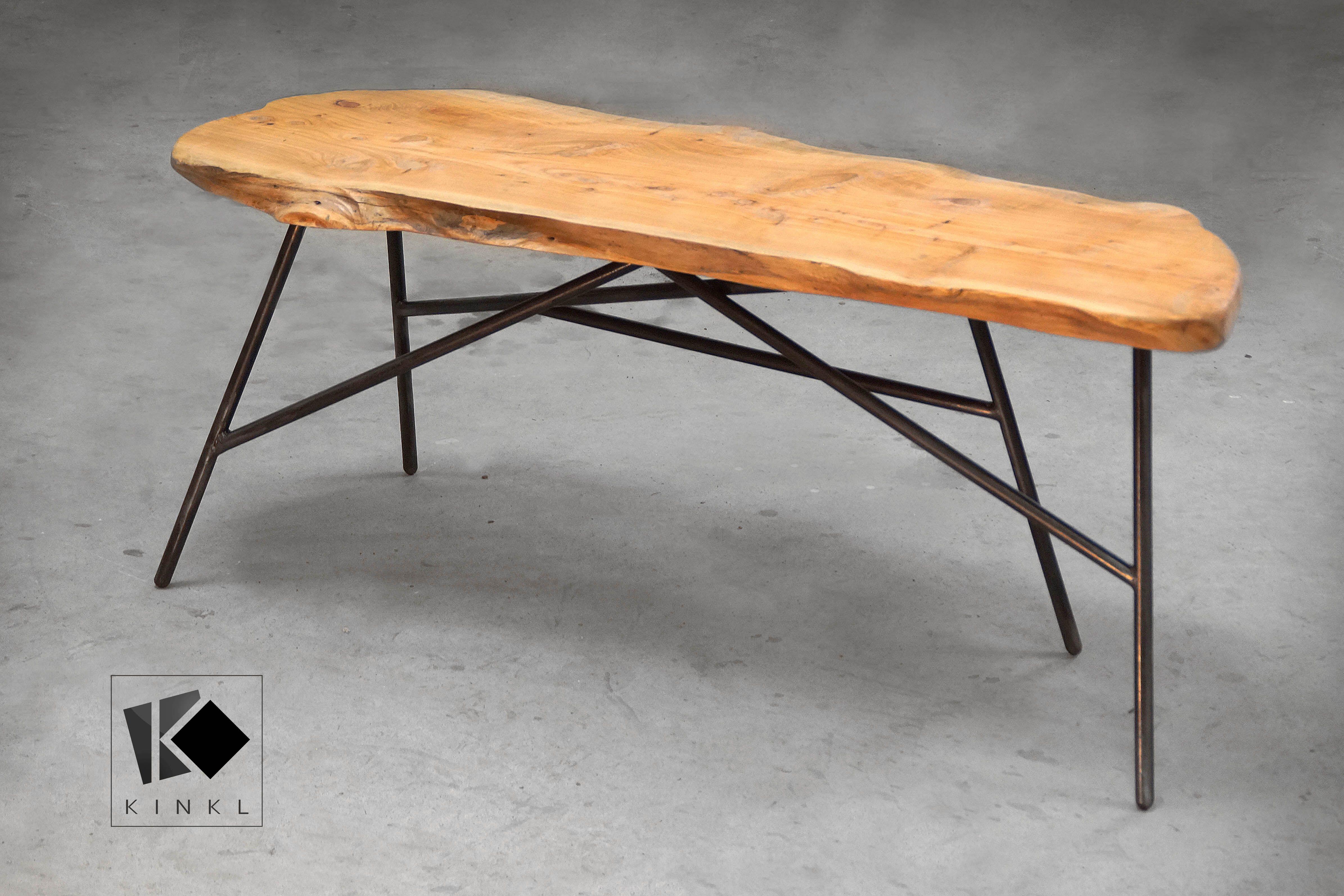 Table Basse Banc Bois