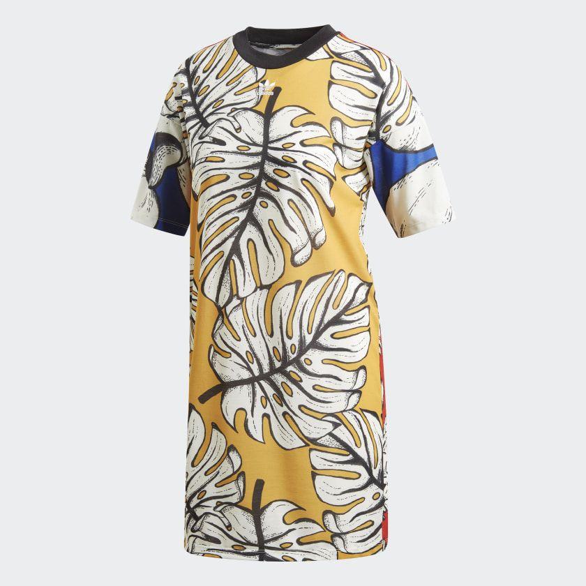 T-shirt Jurk Multicolor DH3069 | T-shirt jurk, Jurken, Shirtjurk