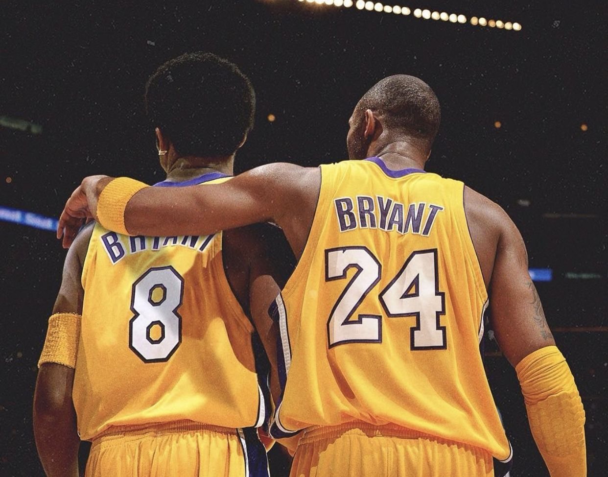 Pin by Nicholas Ihling on Kobe Bryant and fam in 2020