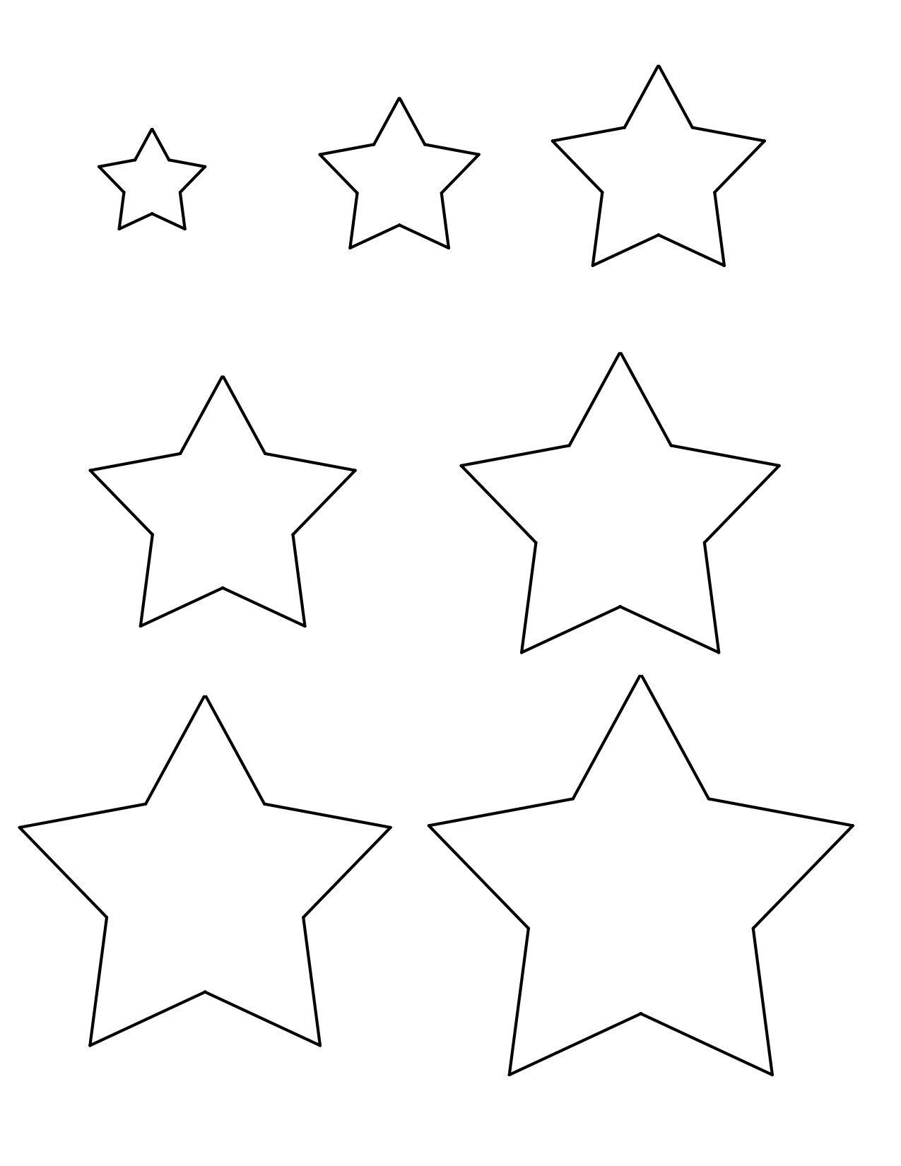 Star Templates