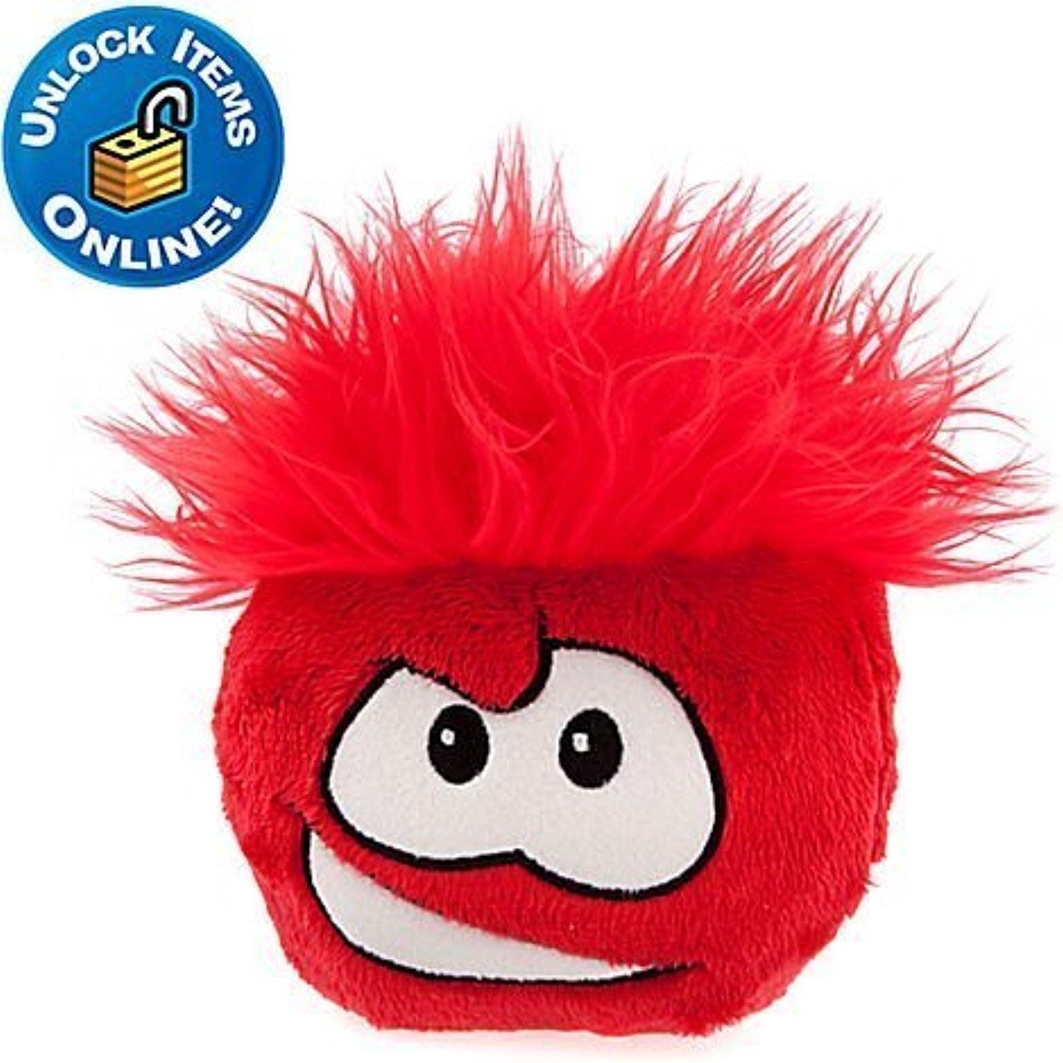 Without Gold Coin Club Penguin Orange Puffle 6-Inch Plush