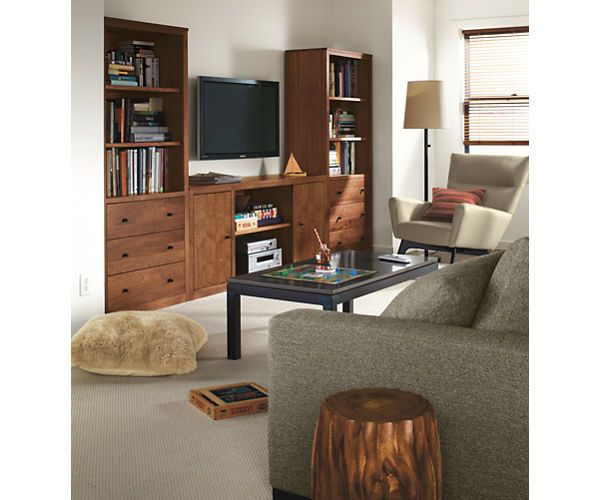 Woodwind Modern 72h Bookcases With Drawers Modern Bookcases Shelving Modern Office Furniture Bookcase With Drawers Modern Media Cabinets Modern Shelving