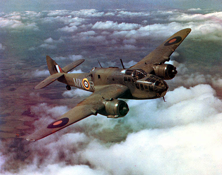 Bristol Beaufort WW2 torpedo bomber