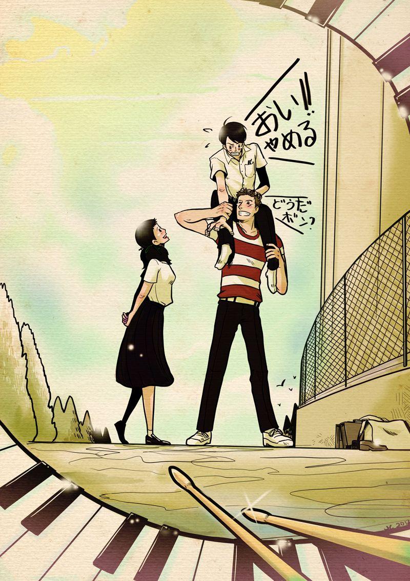 Kids On The Slope Anime Sakamichi Shinichirō Watanabe