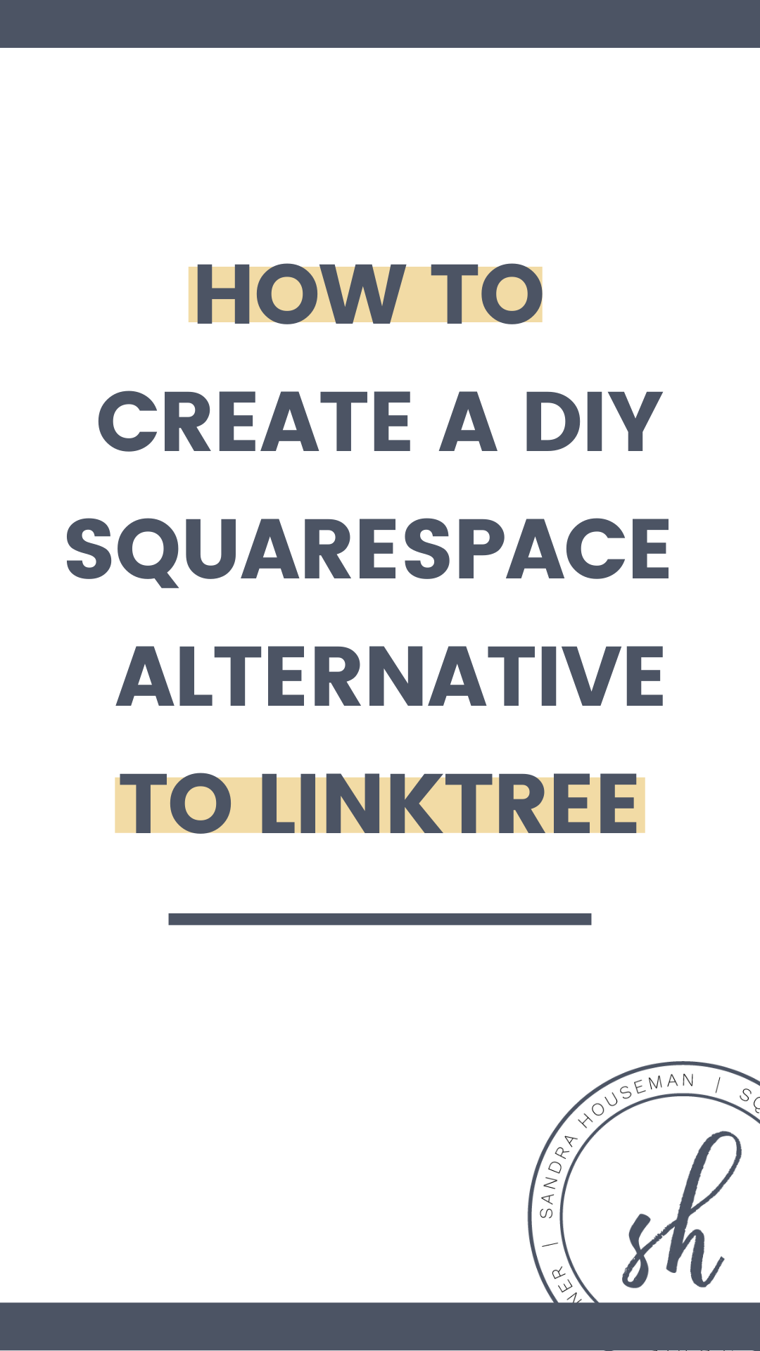 Easy DIY alternative for Instagram Linktree page