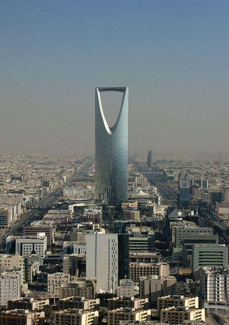 Riyadh View Kingdom Center Saudi Arabia Riyadh Saudi Arabia Cultural Architecture