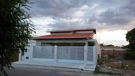 Projetos Residenciais: Casas campestres por Moderna Arquitetura Brasil