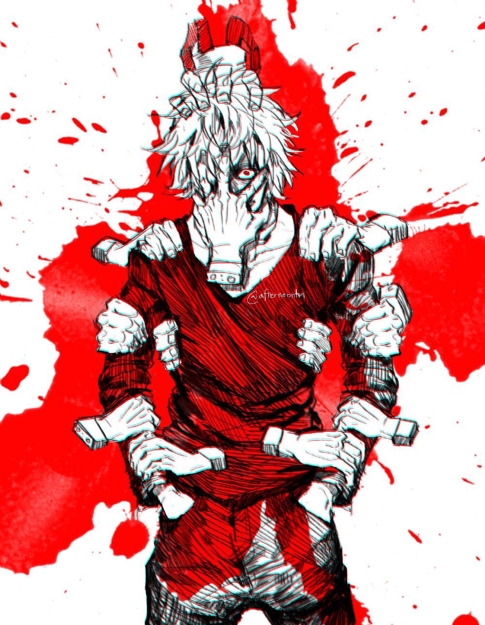 Shigaraki Tomura By Afternoontm On Deviantart In 2020 Hero Boku No Hero Academia My Hero