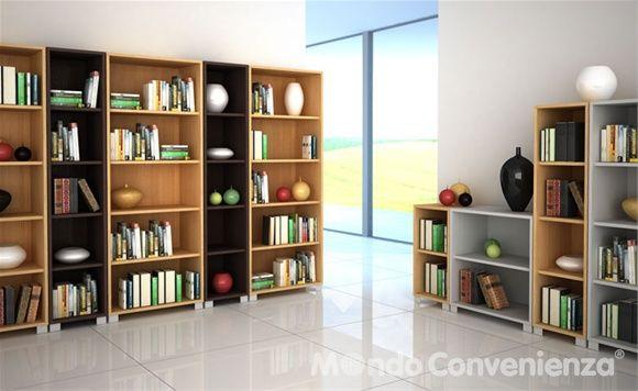 Mondo convenienza libreria mod quadrante con 1 for Libreria mondo convenienza