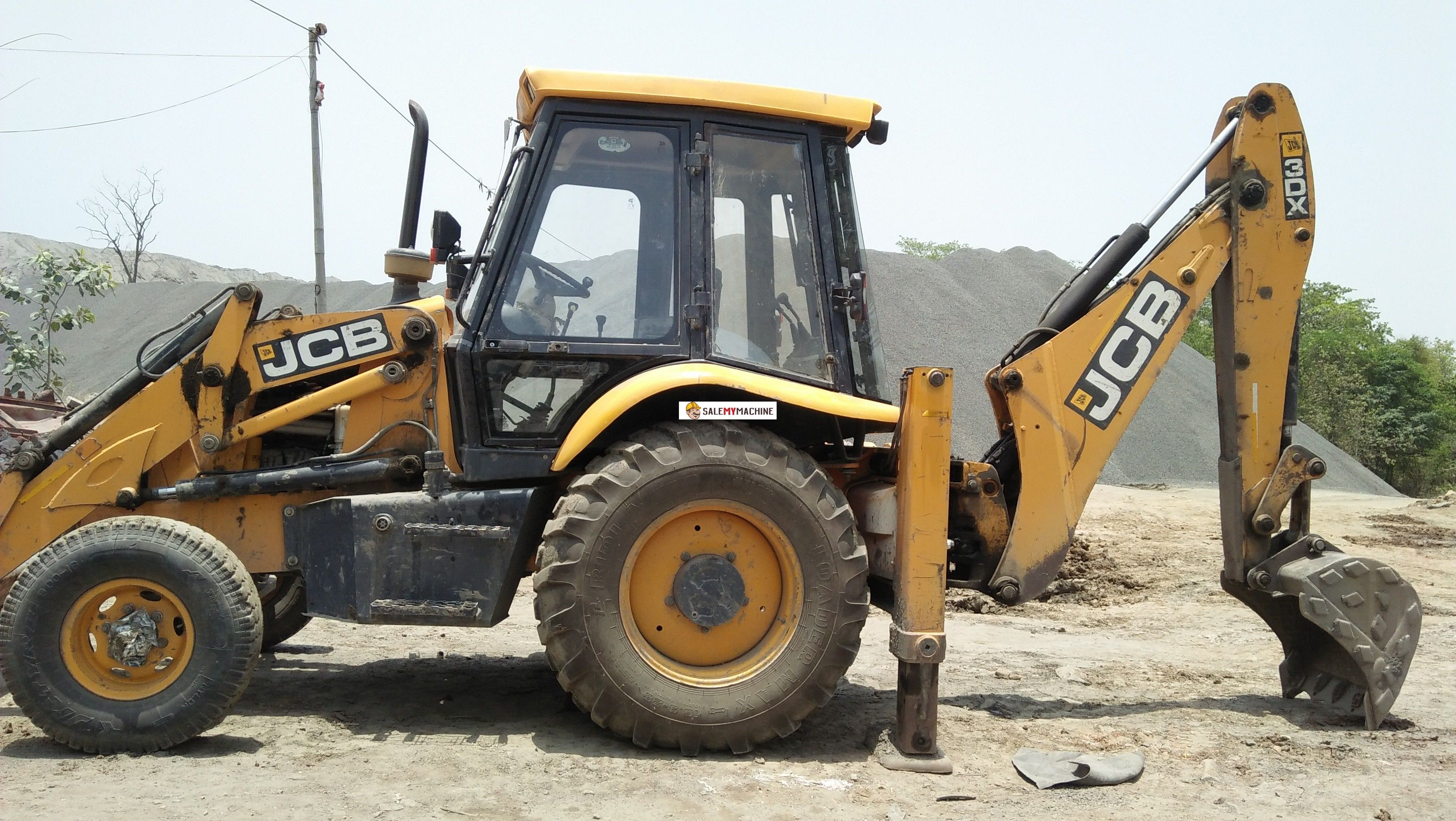 Used JCB 3DX for sale in odisha,india at salemymachine com