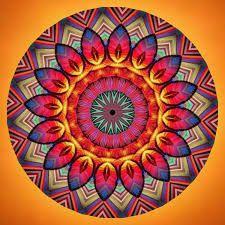 Resultado De Imagem Para Imagens De Mandalas Coloridas Para