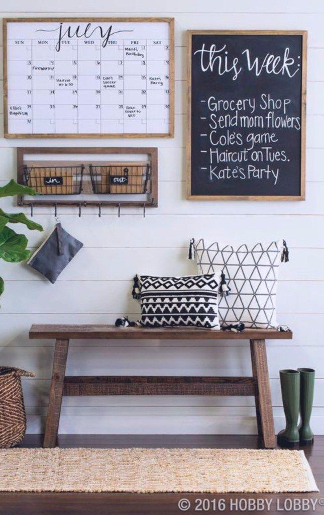DIY Home Command Center Ideas To Organize Your Family\u0027s Life my