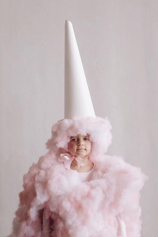 Cotton Candy Costume Idea
