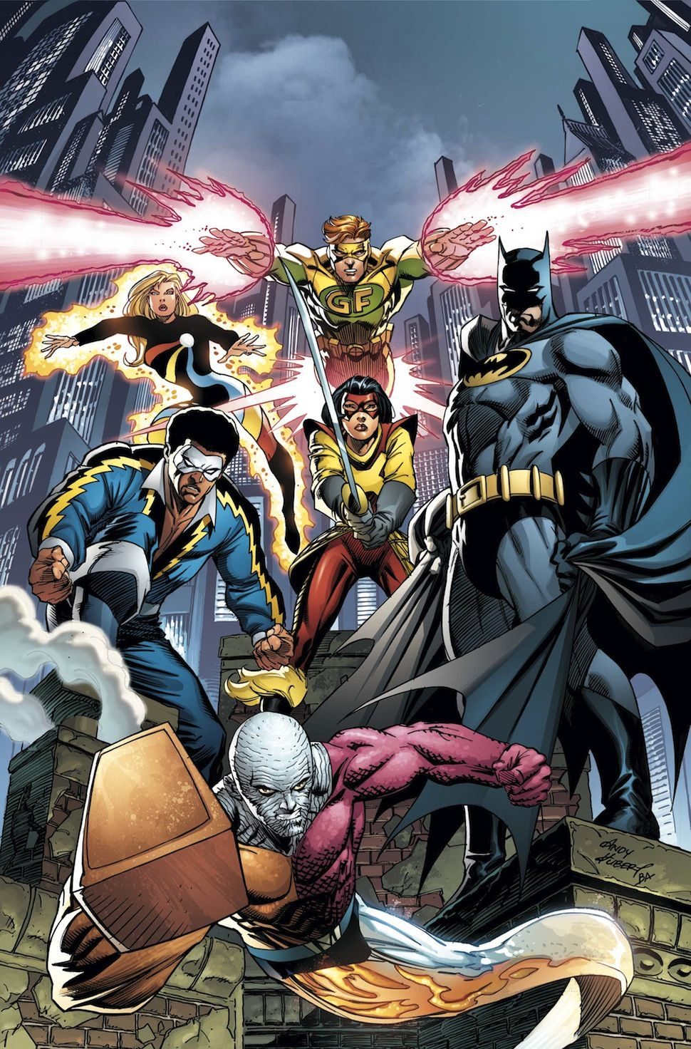 Convergence: Batman and the Outsiders #1 by ANDY KUBERT