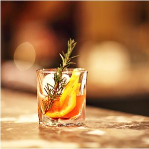 This smoky and complex cocktail recipe combines fruity sweetness of plums and smokiness 16 year old whisky.