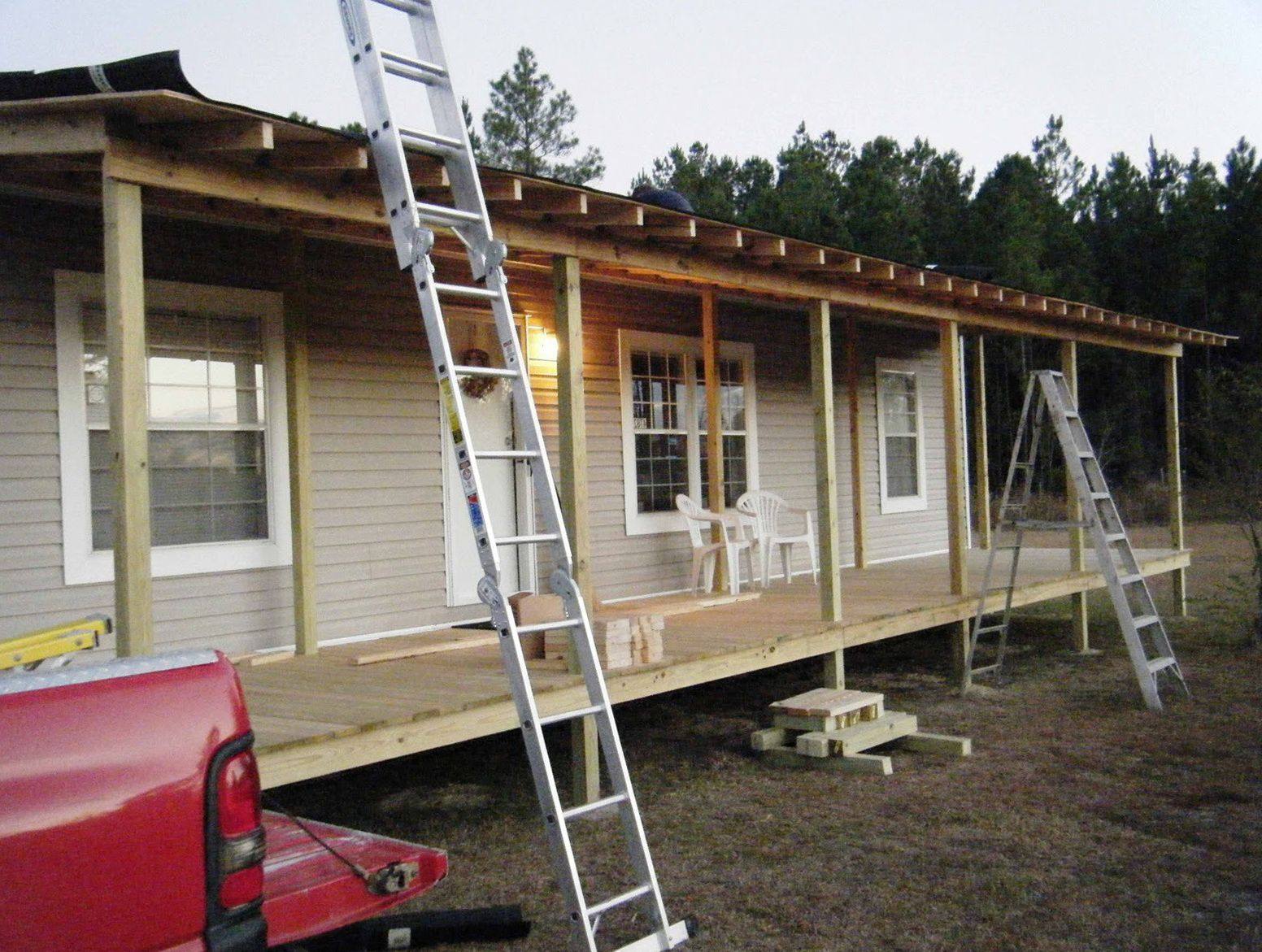 5 Simple Steps To Front Porch Plans Free 75 In Small Home